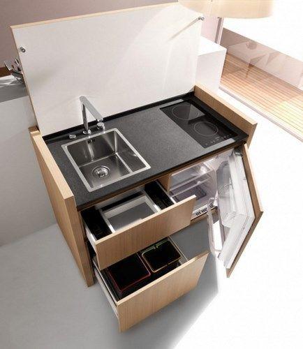 Mueble funcional para cocina peque̱a Рcasa web