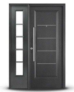 puerta entrada oblak negra grafito 1709g premium barral 80cm MLA O 2962254955 072012