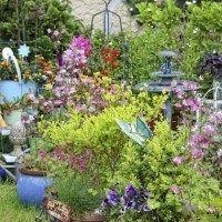 Adornos para decorar el jardin