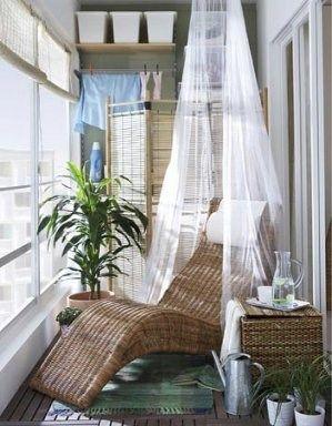Aprovechar el balcon cerrado casa web for Decoracion para interiores pequenos