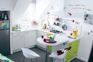 cocina pequena