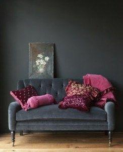 conbinar el color gris en la sala