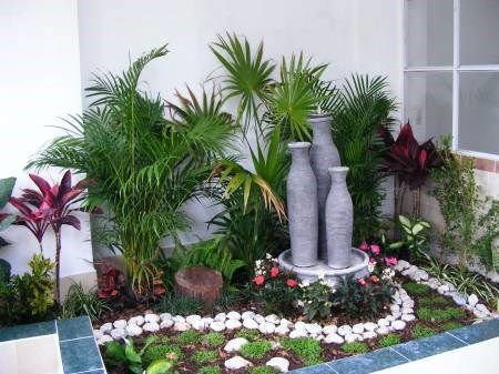 Decoracion de jardin casa web for Ideas para decorar paredes de jardin