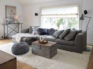decoracion en color gris