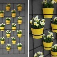 decorar la pared del jardin