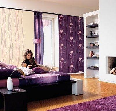Dormitorios Juveniles Violetas Casa Web