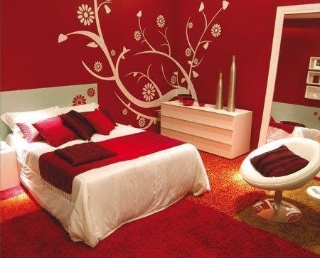 decoracion jardineria y construccion homepage decoracin dormitorio matrimoniales rojos - Decoracion De Dormitorios Matrimoniales
