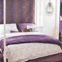 dormitorios morados lilas