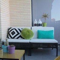espacio de lectura balcon