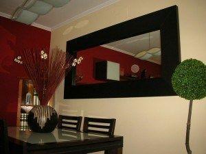 Espejos para comedor casa web Decoracion de salas con espejos en la pared