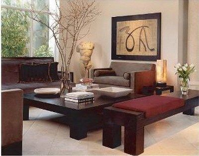 Decorar Living Con Sofa Marron Casa Web