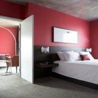 pintar de rojo el dormitorio