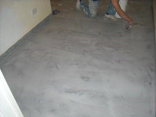 hacer un piso de cemento alisado casa web