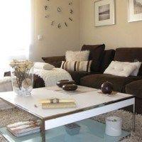 sofa marrones