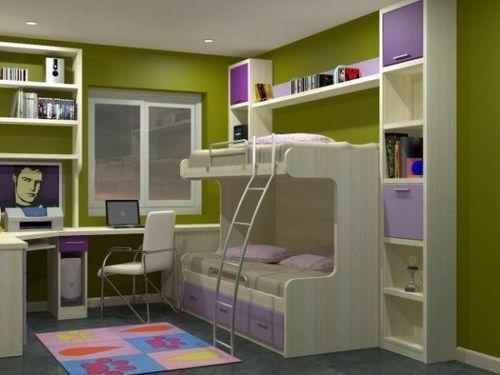 1293625919 151983320 1 fotos de dormitorios para jovenes dormitorios infantiles habitaciones - Dormitorios infantiles dobles ...