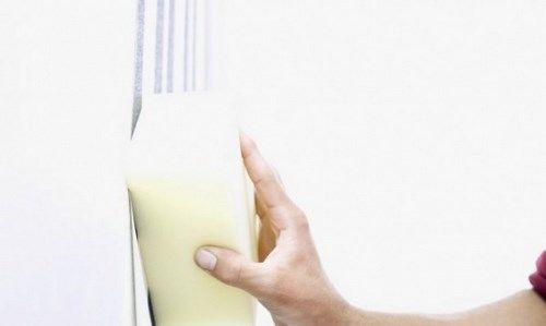 Limpiar manchas de la pared