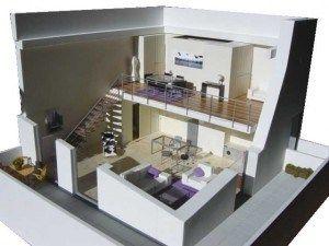 arquitectura de loft modernos