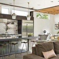 cocina diseño y de estilo industrial