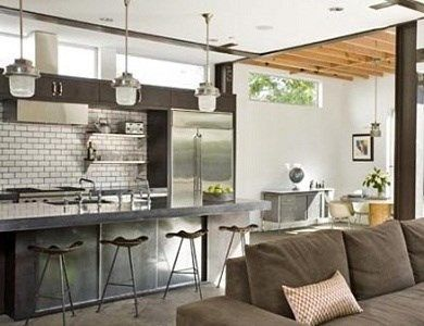 Cocina dise o y de estilo industrial casa web for Cocinas industriales modernas