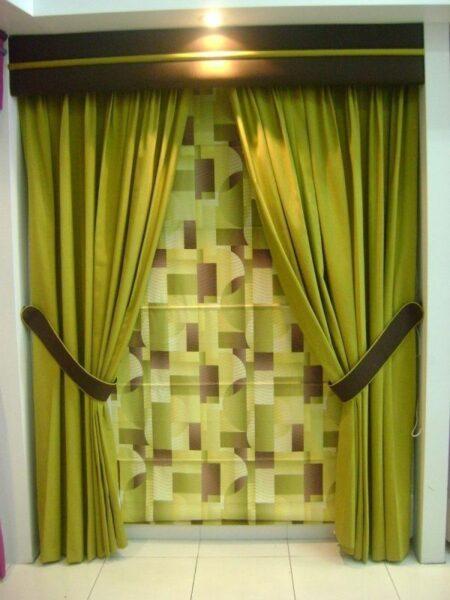 Cortinas juveniles modernas free cortinas modernas para for Cortinas blancas para sala