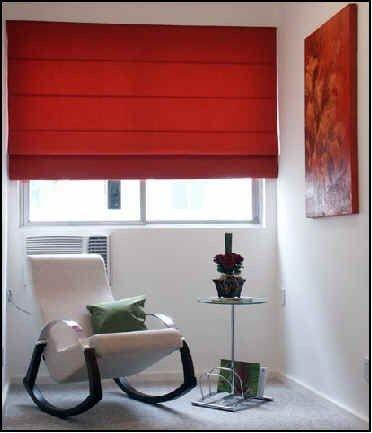 cortinas romanas