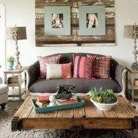 decoracion con muebles reciclados