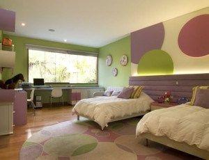 decoracion de habitacion dos niñas