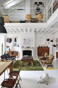 decoracion de loft estilo industrial