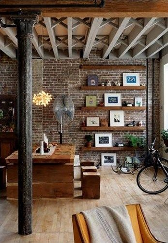 Decoracion industrial casa web - Decoracion vintage industrial ...