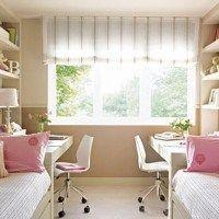 decorar habitaciones pequeña para dos nenas