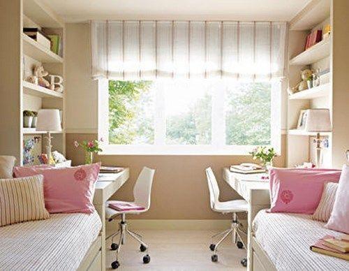 Decorar habitaciones peque a para dos nenas casa web - Habitaciones para dos ninas ...