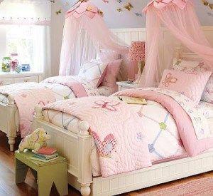 dormitorio niña doble