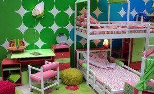 dormitorio niñas moderno