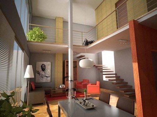 Escaleras para loft modernas casa web for Imagenes escaleras modernas