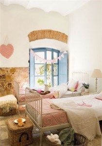 habitacion para dos nenas
