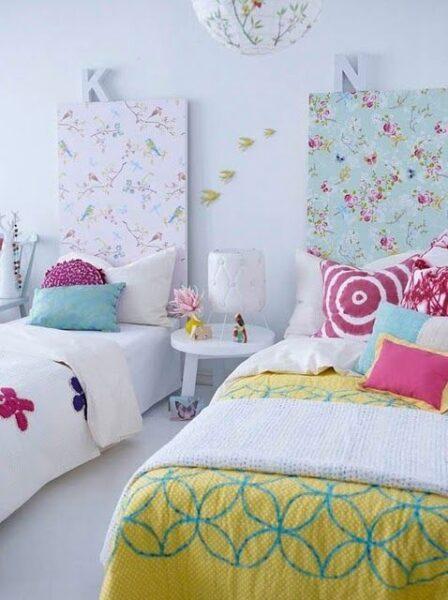 Habitacion para ni as doble casa web - Dormitorios infantiles para dos ...