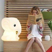 lampara en forma de animales