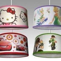 lamparas con motivos infantiles para el techo