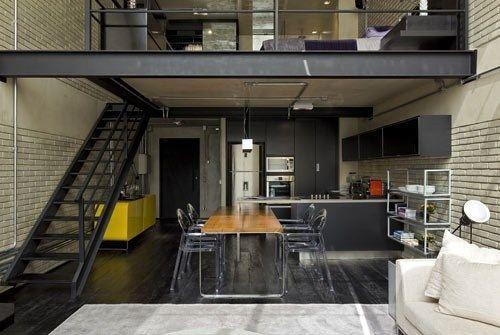 Loft estilo industrial casa web for Casas de estilo industrial