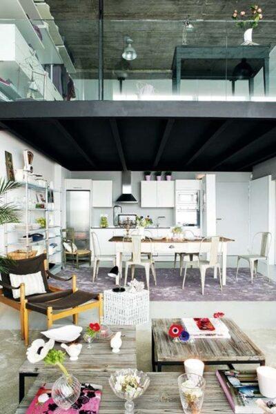 Loft estilo industrial1 casa web for Decoracion loft industrial