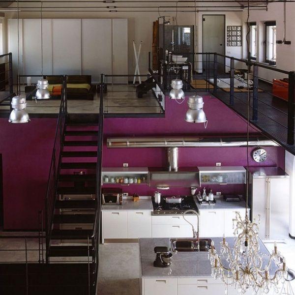 Loft moderno con estilo industrial casa web for Decoracion loft industrial
