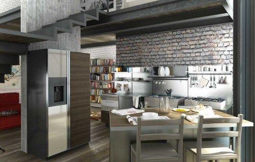 Loft modernos casa web for Decoracion estilo loft