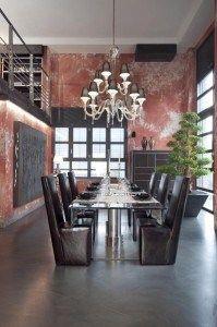 loft rustico y formal