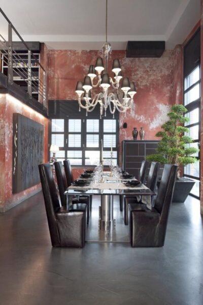 Loft rustico y formal casa web for Loft rustico