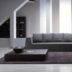 mesa minimalista para el living