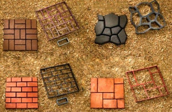 Stencil moldes para estampar pisos de cemento casa web for Moldes para adoquines