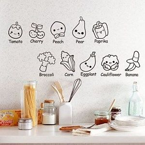 Pegatina 3 casa web - Pegatinas para cocina ...