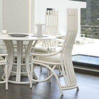 silla de comedor con respaldo ergonómico