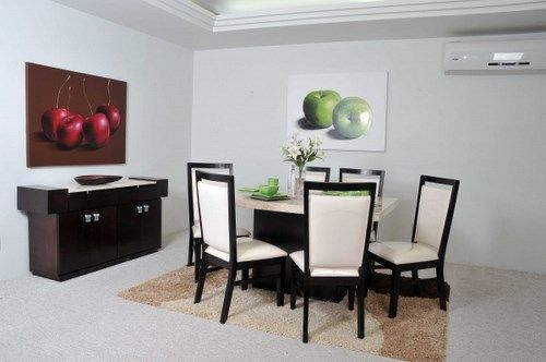 Sillas de comedor beig casa web for Interiores de comedores