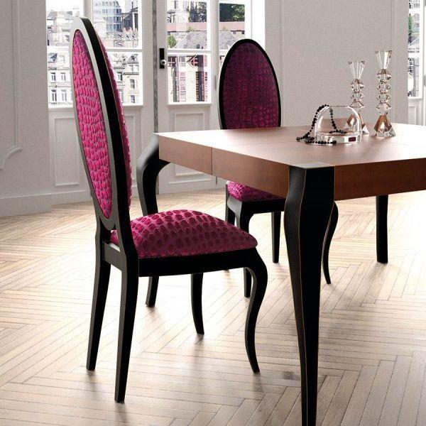 Sillas elegantes para comedor casa web for Modelos de sillas para comedor